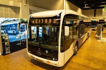 Daimler pamer bus listrik Mercedes-Benz eCitaro