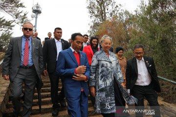 Presiden pelajari tata kota Canberra untuk ibu kota baru Indonesia