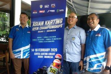 Asian Karting Open Championship kembali digelar di Sentul