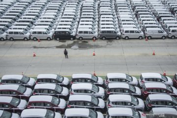 Penjualan mobil Januari 2020 turun