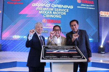 Yamaha buka diler dan bengkel premium Mekar Service Centre di Cibinong