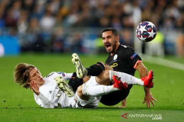 Gundogan pemain Manchester City positif COVID-19