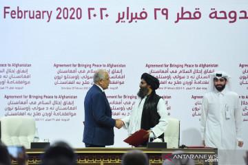 AS kembali serang Taliban, pertama setelah kesepakatan tarik pasukan