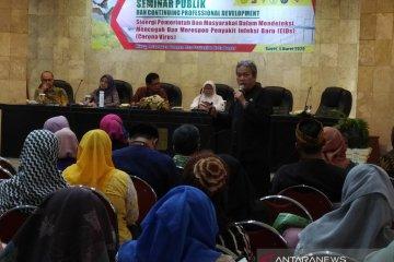 Dinas Kesehatan Kota Bogor imbau warga tidak panik sikapi virus corona