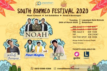 19 Hari Menuju Penampilan Noah di South Borneo Festival 2020