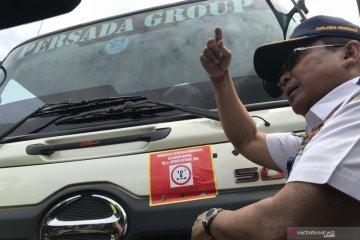 Pemerintah tindak truk kelebihan muatan di Tol Tanjung Priok