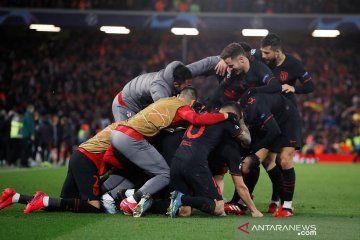 Atletico Madrid minta ijin potong gaji pemain dan staf