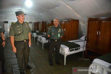 Kodam IM bangun tenda isolasi COVID-19
