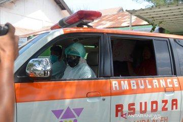 Kedatangan pasien suspect corona di RSUDZA