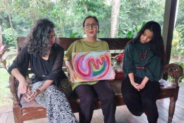Ini lukisan pasien COVID-19 yang telah sembuh