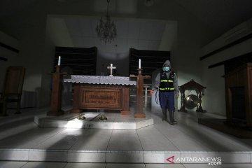 Antisipasi penyebaran COVID-19 di Gereja
