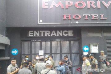 Satpol Pp Jakarta Pusat Tutup Hotel Emporium Antara News