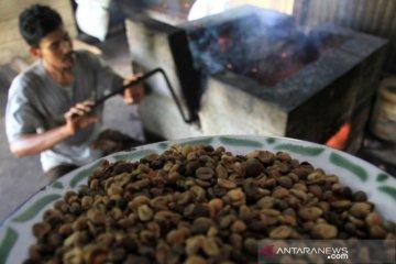 Permintaan bubuk kopi tradisional menurun