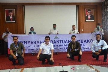 BUMN Aceh serahkan sembako untuk warga terdampak corona