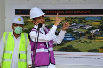 Presiden tinjau RS darurat Pulau Galang