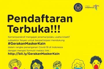 Disainer lokal diajak ikut gerakan produksi 100.000 masker kain