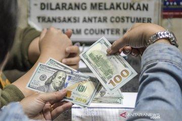 Rupiah kembali melemah seiring menjauhnya investor dari aset berisiko