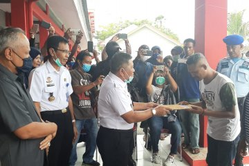 77 napi di Lapas Ambon dibebaskan cegah COVID -19