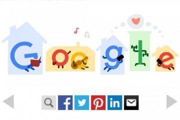 Google tampilkan Doodle dukung aktivitas di rumah