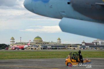 Frekuensi penerbangan Bandara SIM terdampak COVID-19