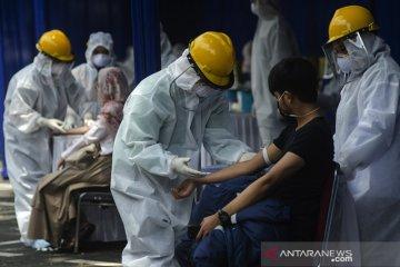 Rapid test COVID-19 di Bandung