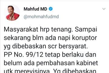 Mahfud: 30 ribu Napi yang akan dibebaskan bukan napi koruptor