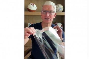Apple produksi pelindung wajah untuk pekerja medis