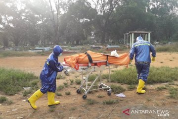 Seorang pasien positif COVID-19 meninggal di Karawang
