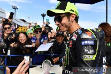 Manajer tim Yamaha yakin Rossi melanjutkan balapan di 2021