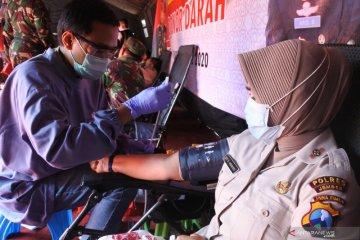 Donor Darah TNI Polri