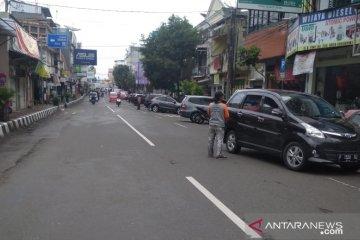 PAD dari parkir di Sukabumi merosot karena COVID-19