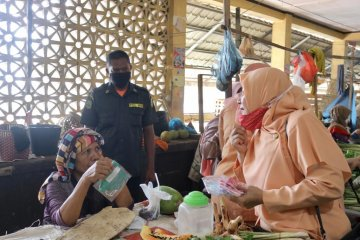 DWP Kota Sabang bagi masker kain untuk masyarakat guna cegah COVID-19