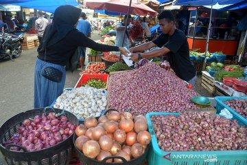 Bawang merah naik drastis di Banda Aceh