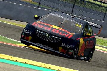 Verstappen raih tiga finis podium balap virtual Supercar ESeries