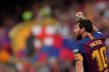 Jelang restart La Liga, Barcelona sebut Lionel Messi alami cedera paha