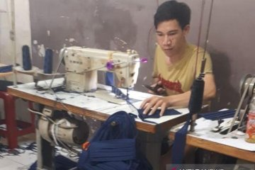 Bukit Asam berdayakan UMKM produksikan puluhan ribu masker kain