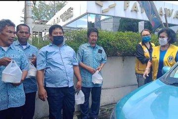 YLMI bagikan masker kain dan makanan masyarakat terdampak corona