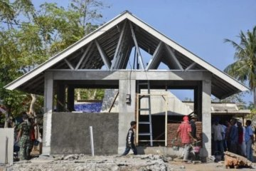 BPBD: Pembangunan RTG di Lombok Barat 97 persen