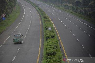 Penurunan lalu lintas harian jalan tol