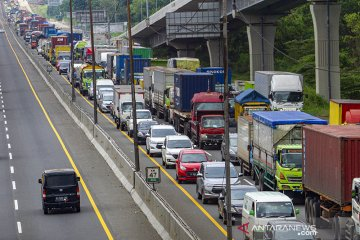 Skema pembatasan kendaraan di Tol Jakarta - Cikampek