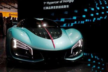 FAW Hongqi gandeng Silk EV untuk desain mobil listrik