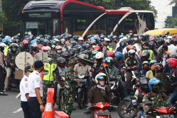 Surabaya diperketat hari pertama PSBB