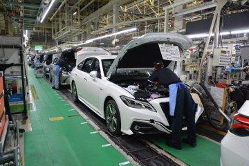 Toyota kembali lanjutkan produksi mobil di seluruh pabrik