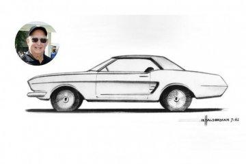 Kiprah Gale Halderman, perancang mobil ikonis Ford Mustang