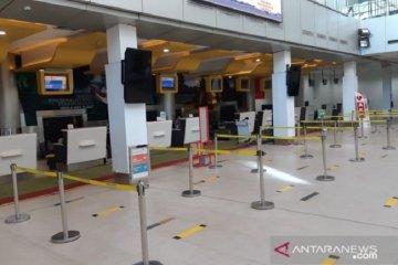 Dampak PSBB di Jakarta, pergerakan penumpang di Bandara Jambi turun 30 persen
