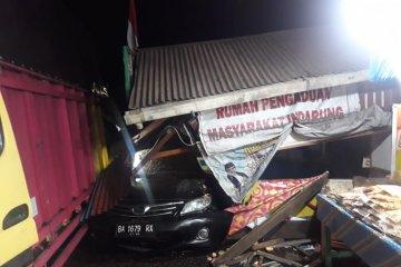Kecelakaan di Indarung Padang tewaskan seorang sopir truk