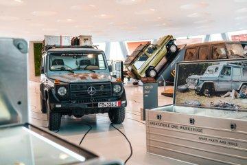 Museum Mercedes-Benz dibuka lagi untuk umum