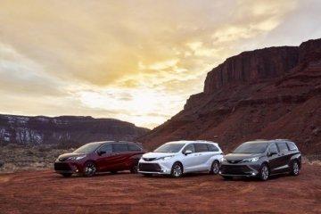 Toyota Sienna hadir dengan wajah baru dan mesin hybrid