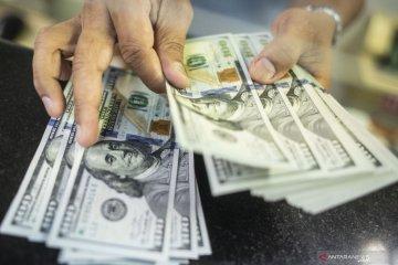 Kurs rupiah melemah di tengah tarik menarik sentimen di pasar uang