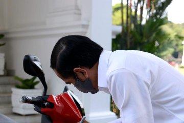 Bamsoet bersyukur motor listrik Presiden Jokowi terjual Rp2,5 miliar
